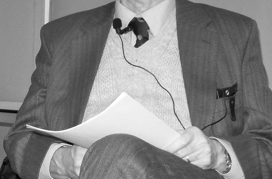 Dr Richard Hills Lecture